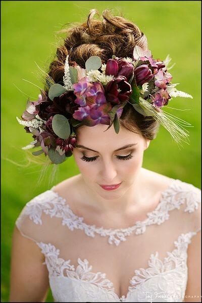 Bride Hair Flowers