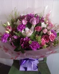 Simply Pink Flower Bouquet