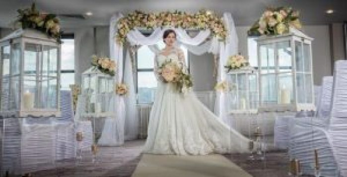 Bride and Archway