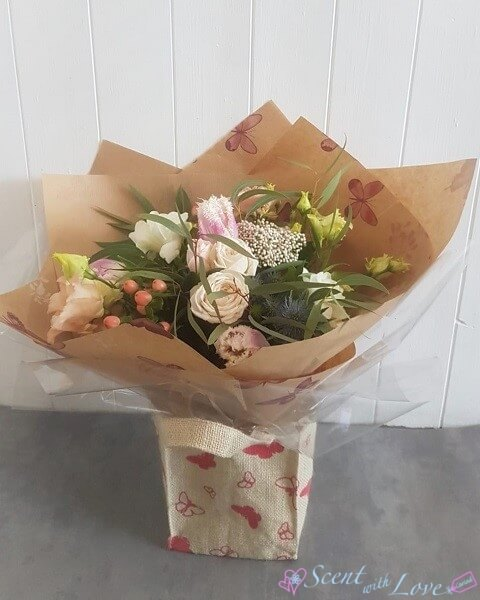 Pastel Mothers Day Hand Tied