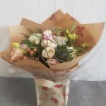 Pastel Shades Hand Tied