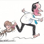 The Sceptical Scot cartoon: Cameron on the run