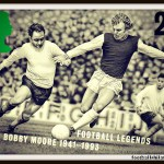 A Royal Mail stamp bearing image of Bobby Moore: image footysphere CC By-SA.20