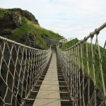 Carrick-a-Rede rope bridge in Antrim, N Ireland, by Francesc González, CC BY-NC-ND 2.0