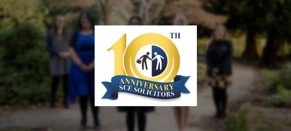 Celebrating 10 successful years of SCE Solicitors