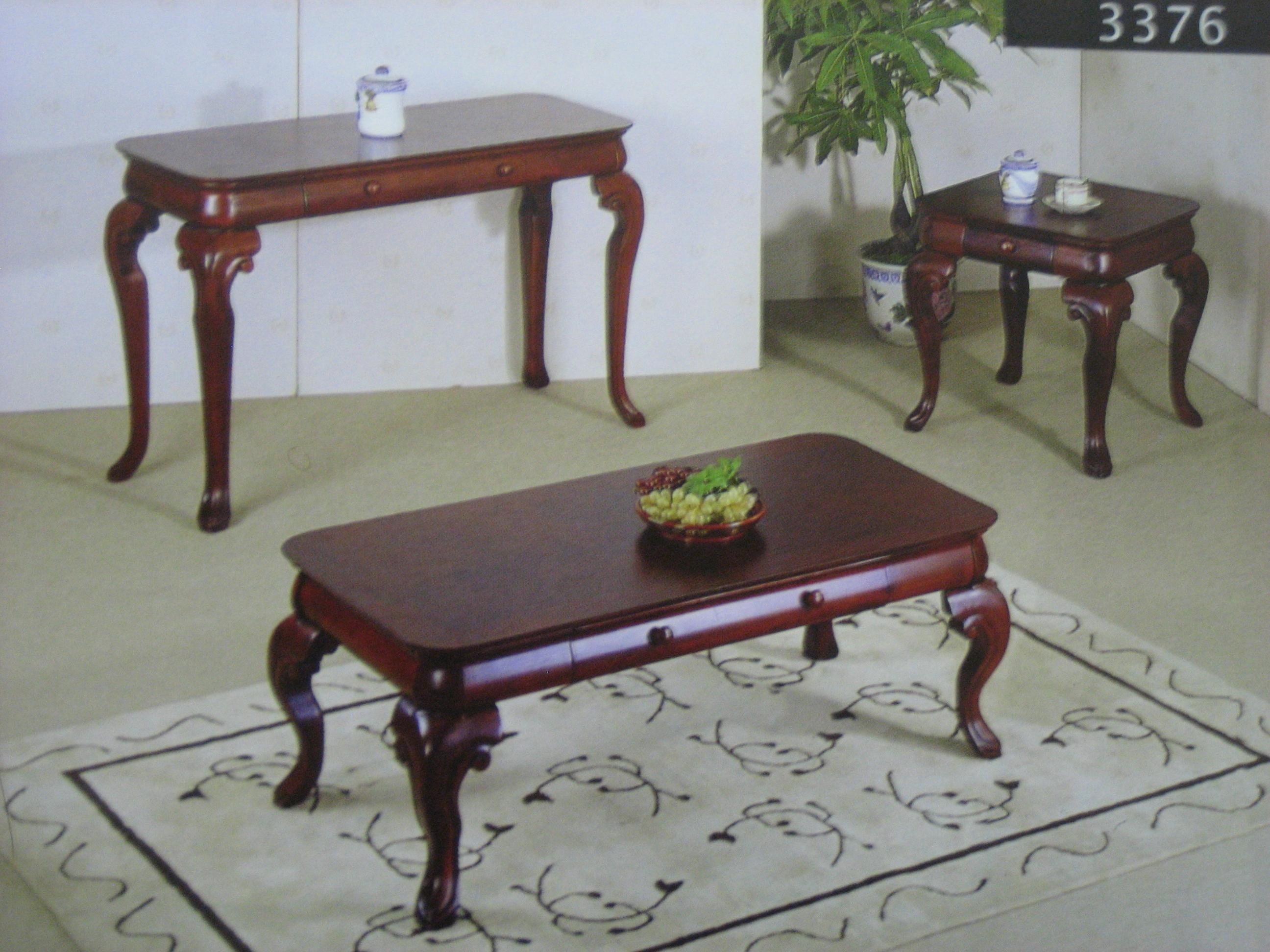 sofa table set nautical sleeper 3376 coffee 43 2 end tables 3376s