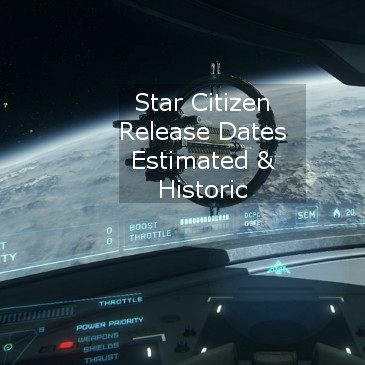 Star Citizen Release Date Estimates & Historic Dates