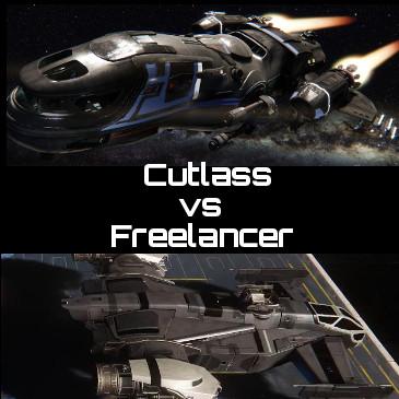Freelancer vs Cutlass