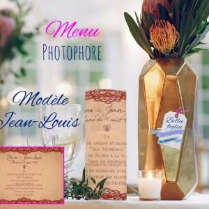 Les Menus Photophore