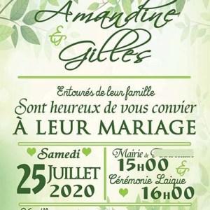faire-par mariage nature vert