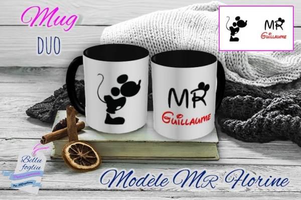 Mug personnalisable disney monsieur mickey prénom