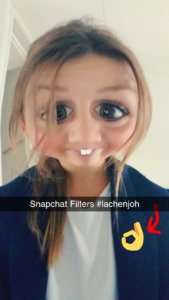 Snapchat filters maken stories grappig