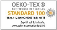 OEKOTEX Zertifizierung