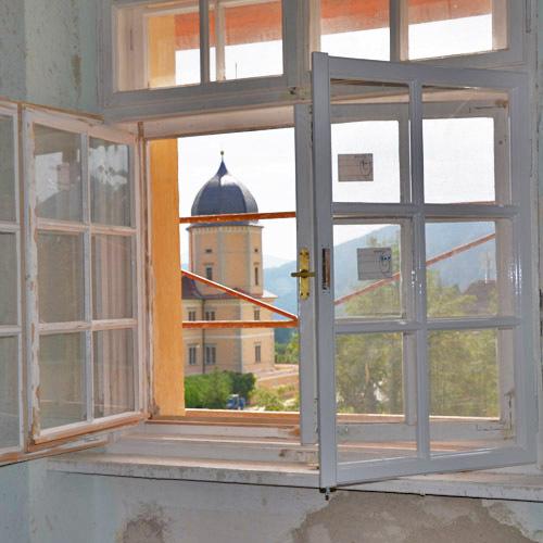 Alte kastenfenster – Wärmedämmung der Wände, Malerei