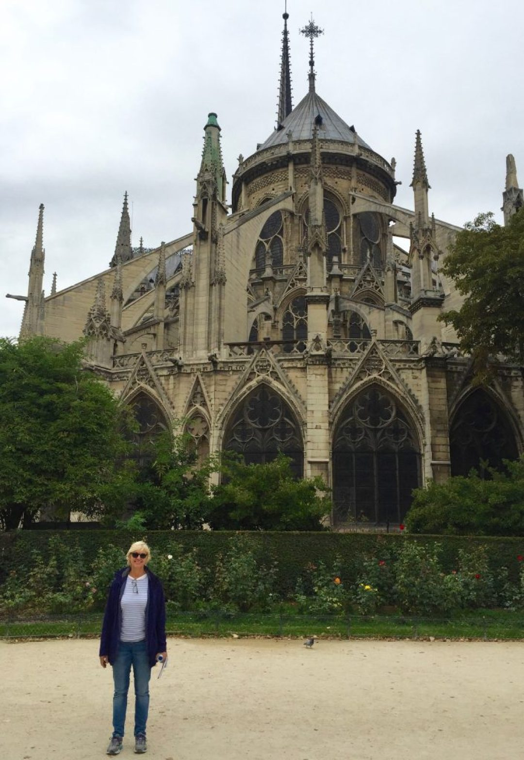Notre Dame'sflying buttresses.