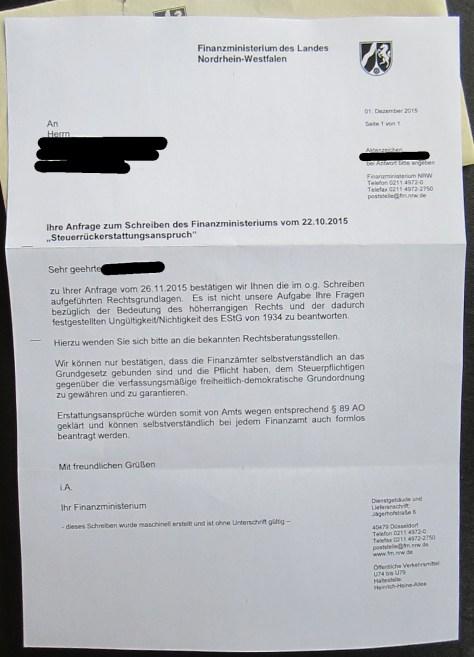Update 3 Rückerstattungsanspruch Steuern Schäbels Blog