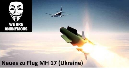Neuigkeiten von Anonymous zum Flug MH 17