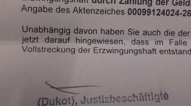 """Stadt zeigt """"Reichsbürgern"""" die Rote Karte"""