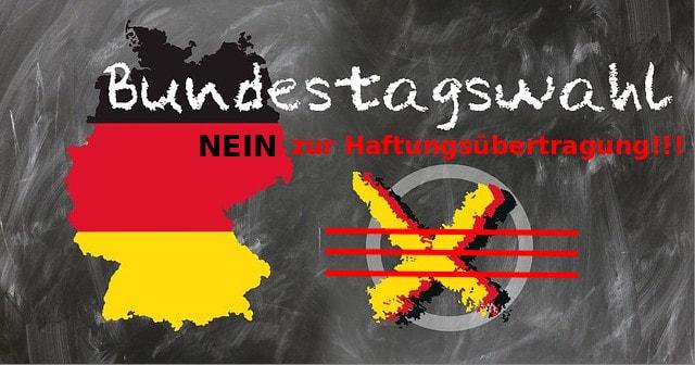 Haftungsverweigerung für die Wahl des Bundestages in GERMANY