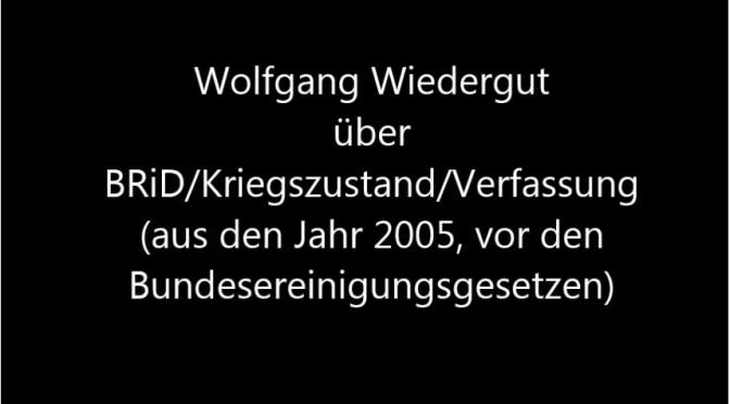 Das Schicksal der Welt wird über Berlin entschieden – Wolfgang Wiedergut