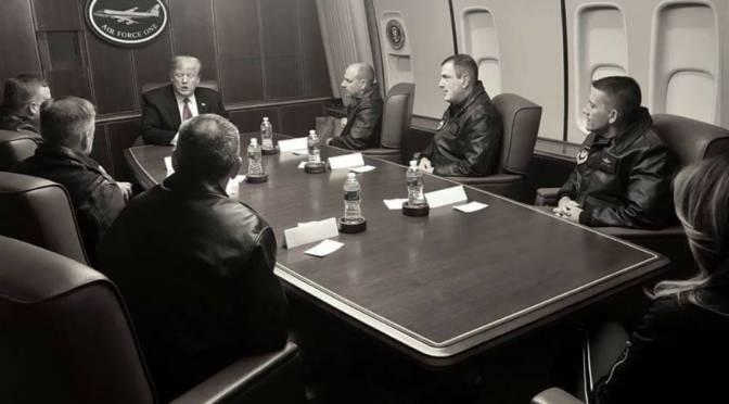 Trump besucht Ramstein