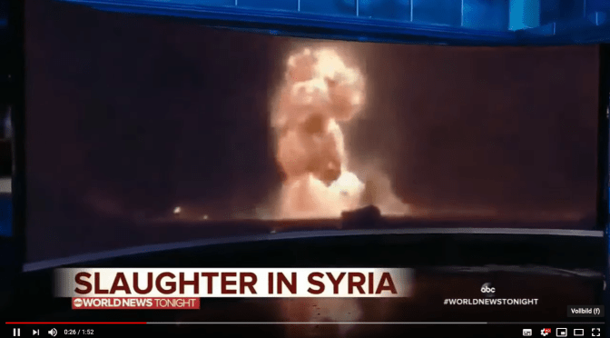 ABC News Caught Red Handed Faking Syria Footage