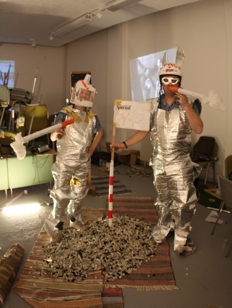 smokin' in space