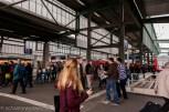 ©2014 - Zugankunft im Kopfbahnhof