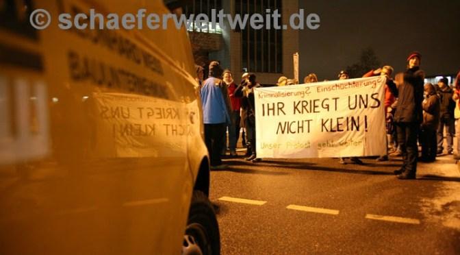 Blockadegruppe fordert Einstellung der Verfahren