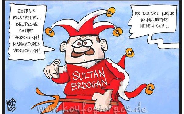 Erdogan und die Satire…