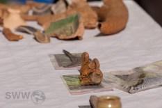 Fundstücke aus dem Bett des Nesenbaches