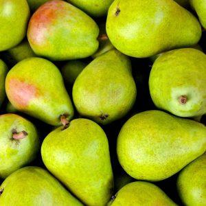 Birnen. Früchte als Symbol für ein erfolgreiches Projekt.