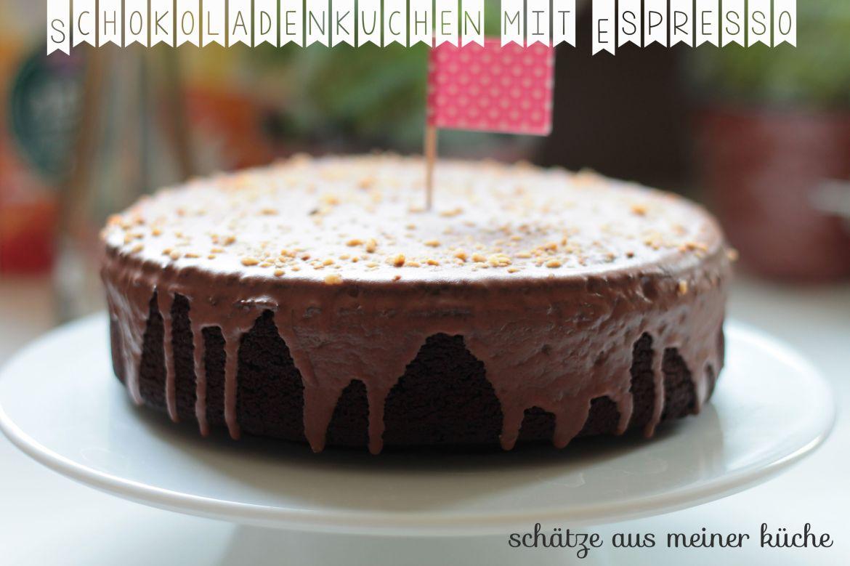 Schokoladen-Espresso-Kuchen Aus Liebe zum Kochen Photisserie