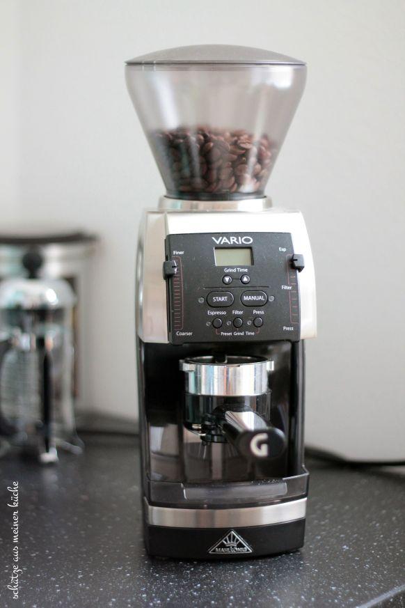 Vario Home Kaffeemühle Mahlkönig Espresso-Woche Schätze aus meiner Küche