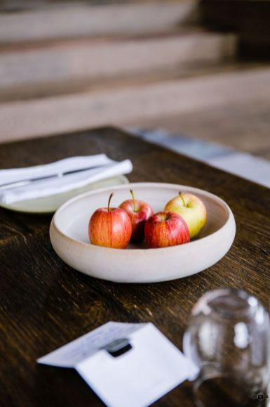 Äpfel Slow Food Küche im WIESERGUT