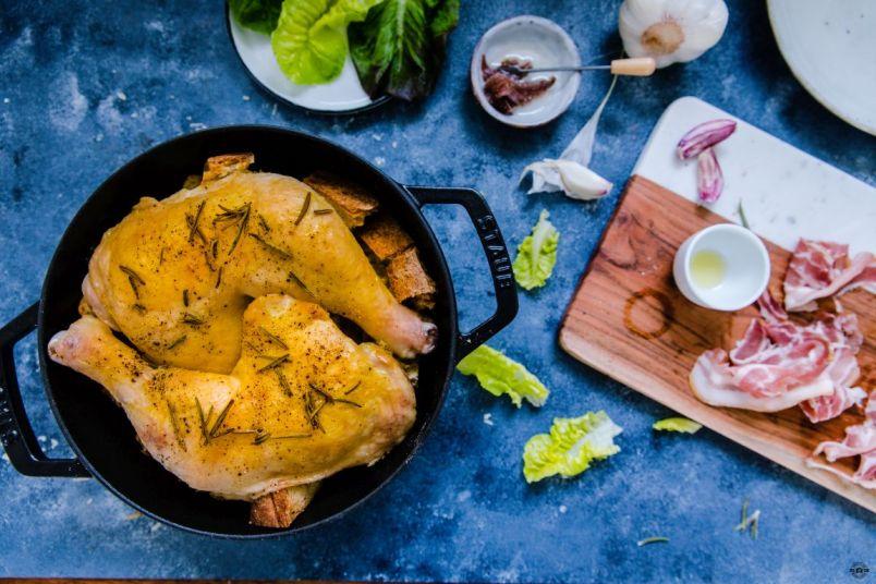 Caesar Salad Jamie Oliver Schätze aus meiner Küche 9