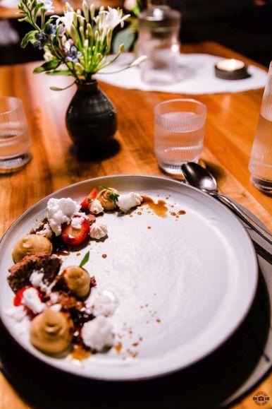 Dessert Slow Food Küche im WIESERGUT