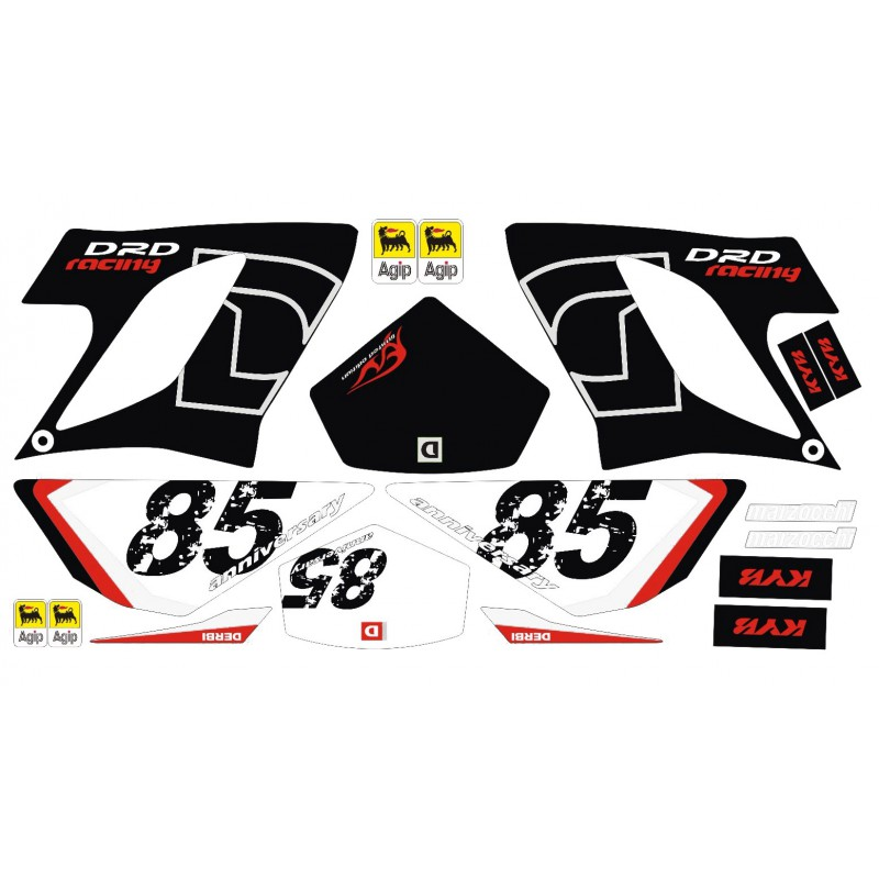 Stickerset 205 Derbi DRD Racing 2006+