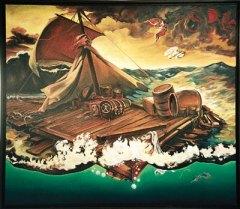Schalenberg - Das Floß der Menschen