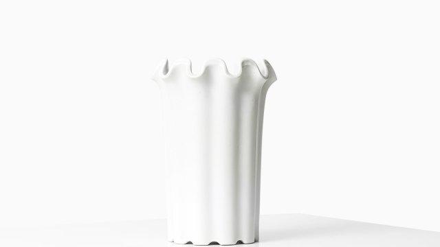 Wilhelm Kåge ceramic vase Våga by Gustavsberg at Studio Schalling