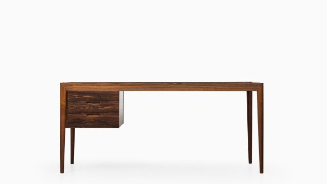 Severin Hansen desk in rosewood by Haslev at Studio Schalling