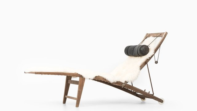 Kerstin Olby reclining chair model Tanga at Studio Schalling