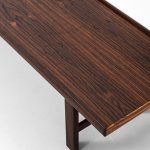 Side table / bench in rosewood at Studio Schalling