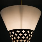 Hans Bergström ceiling lamp by Ateljé Lyktan at Studio Schalling