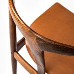 Johannes Andersen dining chairs model Juliane at Studio Schalling