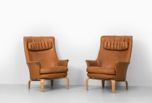 Arne Norell easy chairs model Pilot at Studio Schalling