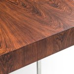 Big rosewood desk with sideboard at Studio Schalling
