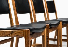 Kai Lyngfeldt Larsen dining chairs at Studio Schalling