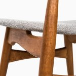 Hans Wegner dining chairs model CH-33 at Studio Schalling