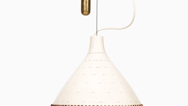 Paavo Tynell ceiling lamp model A1982N by Idman at Studio Schalling